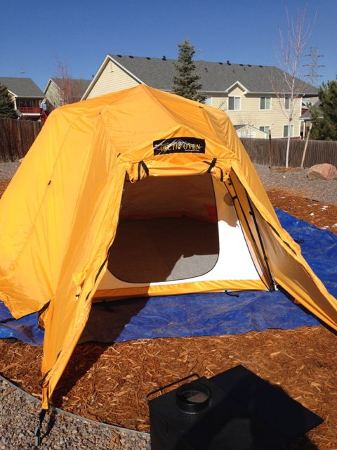 Home Away From Home & Alaska Tent and Tarp Arktika Setup