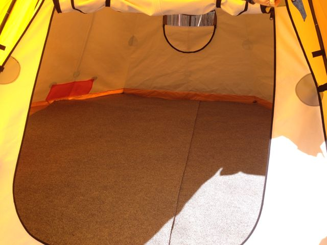 Custom Flooring & Alaska Tent and Tarp Arktika Setup