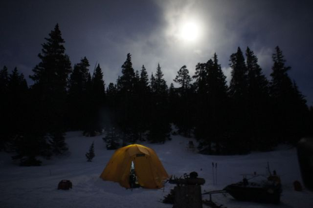 Arctic Oven at Nightfall