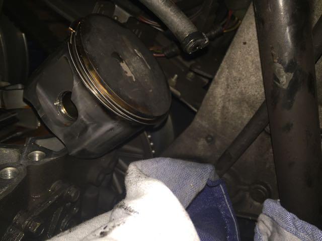 Clean Piston