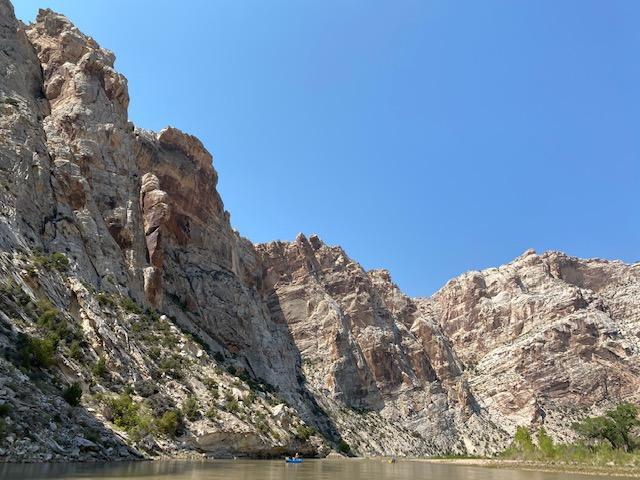 Split Mountain section of the Green River in Utah