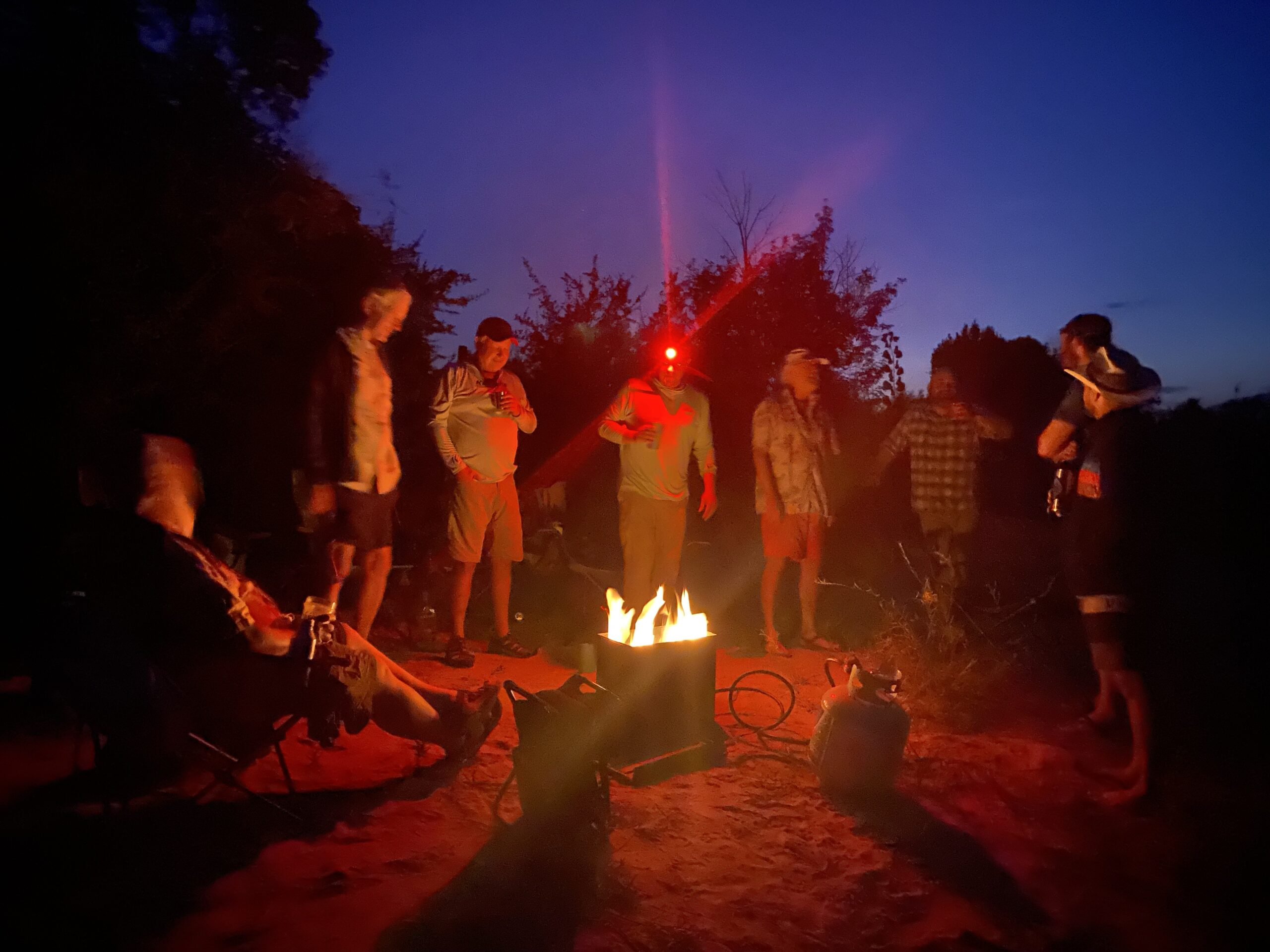Fire pit on Gates of Lodore